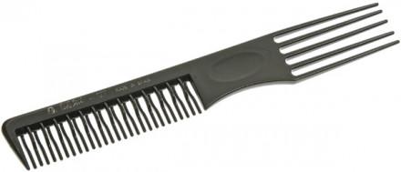 Расчёска с пластиковой вилкой и зубцами в два ряда EUROSTIL : фото