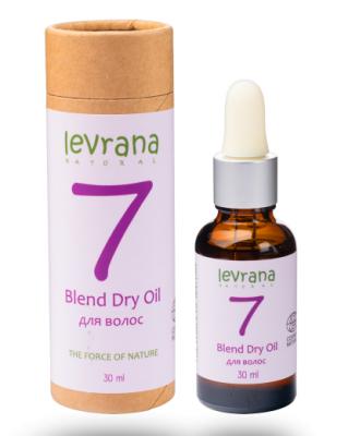 Сухое масло для волос Levrana