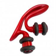 Массажер роликовый для лица и зоны декольте с минералами Vess Liftreju decollete roller: фото
