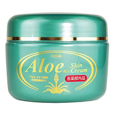 Крем для лица с экстрактом алоэ с добавлением экстракта плаценты To-Plan Aloe cream 250г: фото