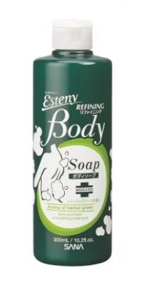 Шампунь для проблемной кожи тела с ароматом свежих трав Sana Body refining shampoo 300мл: фото