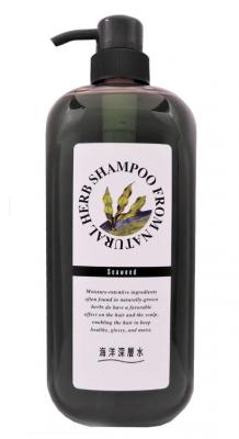Шампунь с экстрактом бурых водорослей JunLove Natural herb shampoo 1000мл: фото