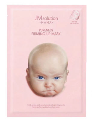 Маска тканевая укрепляющая JMsolution MAMA pureness firming up mask 30мл: фото